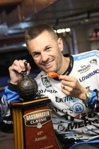 Randy Howell Trophy and Lure